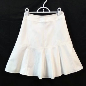 White House Black Market Skater Skirt White 00 NWT